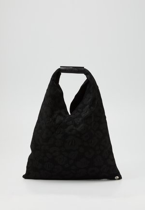 LEOPARD GIAPPONESE SMALL - Shopping bag - black