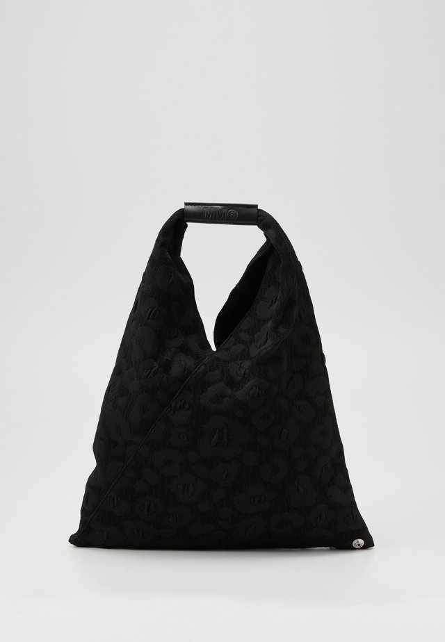 LEOPARD GIAPPONESE SMALL - Bolso shopping - black