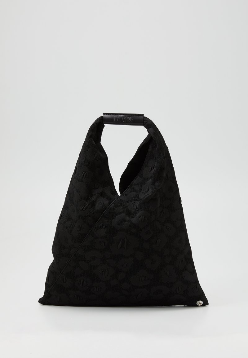 MM6 Maison Margiela - LEOPARD GIAPPONESE SMALL - Tote bag - black