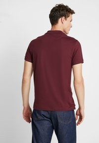 Pier One - 2 PACK - Poloshirt - bordeaux/black - 3