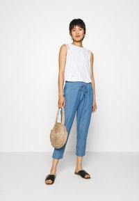 Betty & Co - Trousers - blue denim - 1