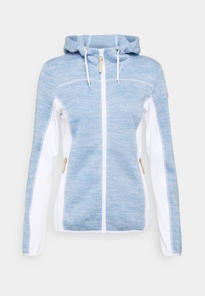 VAIL - Fleecejas - light blue