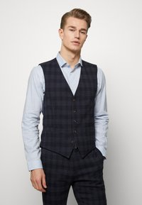 Ben Sherman Tailoring - MIDNIGHT TEXTURED CHECK SUIT - Completo - navy - 3