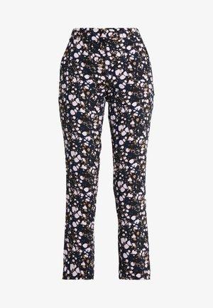CAROL LOVELY PANTS - Kalhoty - black