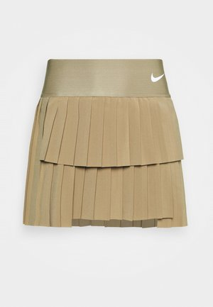 SKIRT PLEATED - Sportkjol - parachute beige/white
