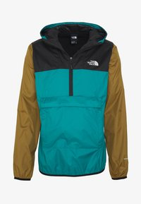 The North Face - MENS FANORAK - Veste coupe-vent - teal/black/khaki - 3