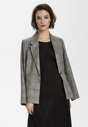 Blazer - black check