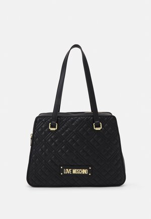 QUILTED SHOPPER - Tote bag - nero