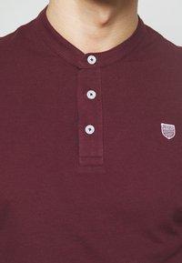 Pier One - Polo shirt - bordeaux - 4