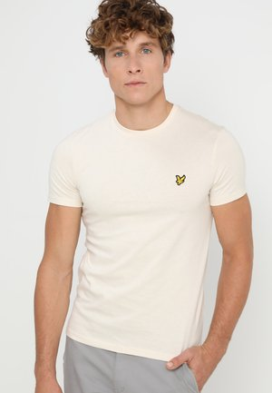 PLAIN - T-shirt - bas - seashell white