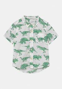 GAP - TODDLER BOY  - Košile - white/green - 0