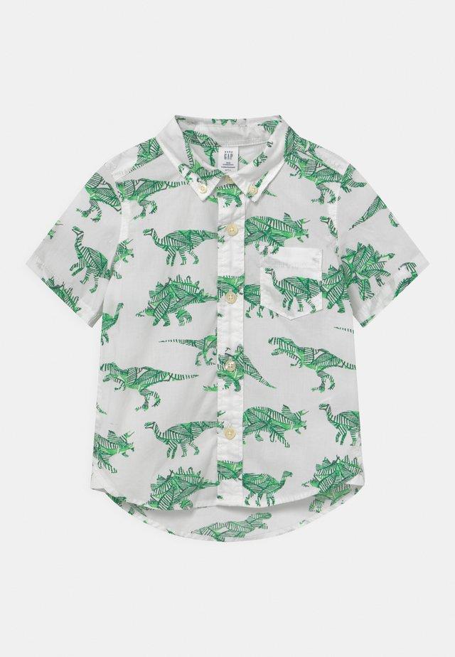 TODDLER BOY  - Shirt - white/green