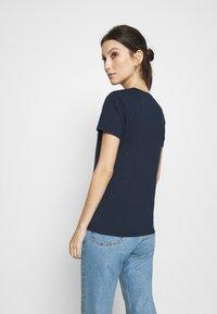 Hollister Co. - TIMELESS - Print T-shirt - navy blue - 2