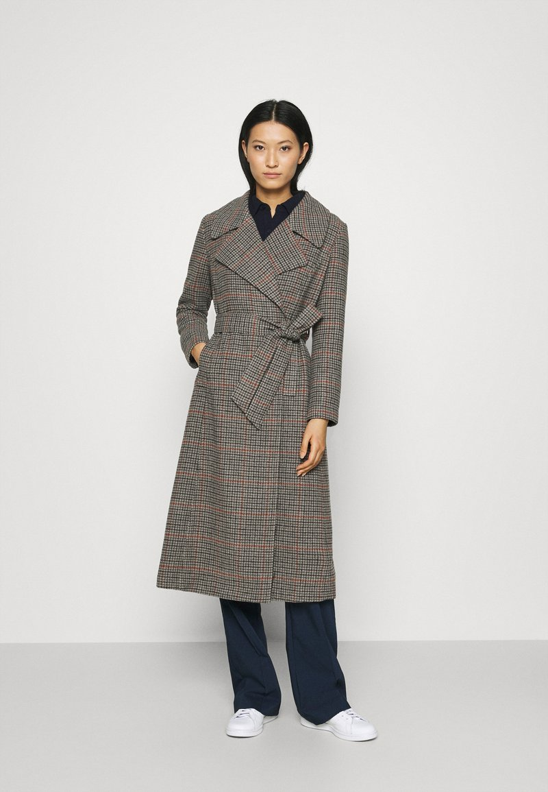 Who What Wear - BELTED TRENCH - Classic coat - multi