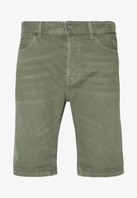 MA981B SHORT - Denim shorts - olive green