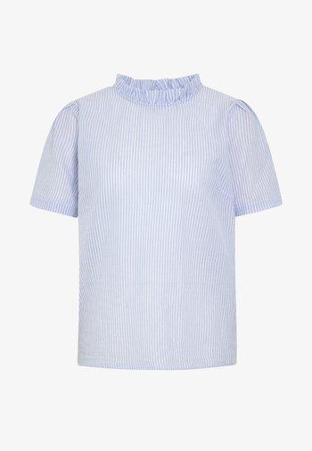 KATINKA BLOUSE - Camiseta estampada - kentucky blue
