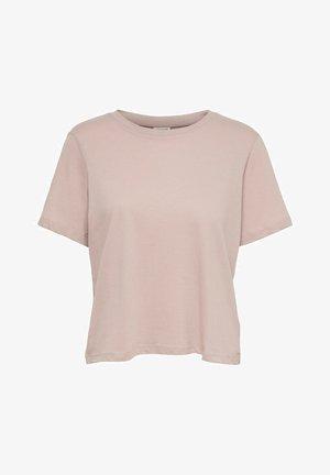 T-Shirt basic - adobe rose