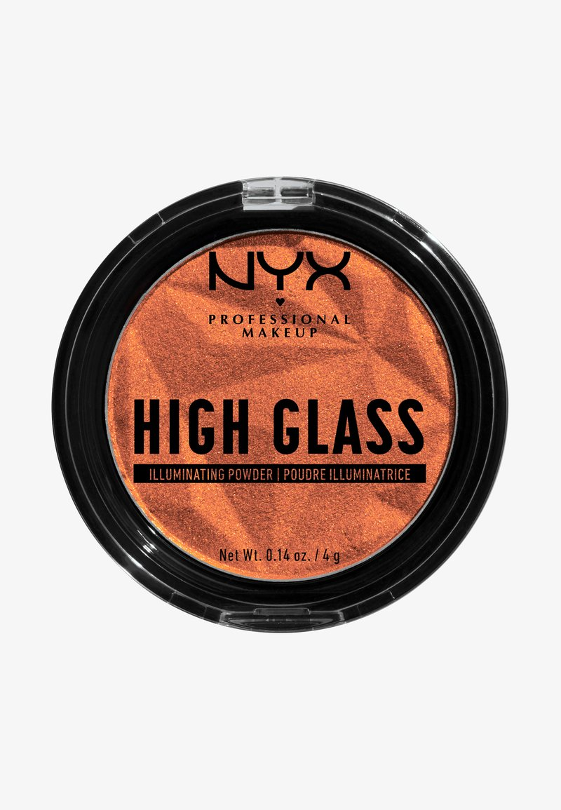 Nyx Professional Makeup - HIGH GLASS ILLUMINATING POWDER - Poudre - golden hour