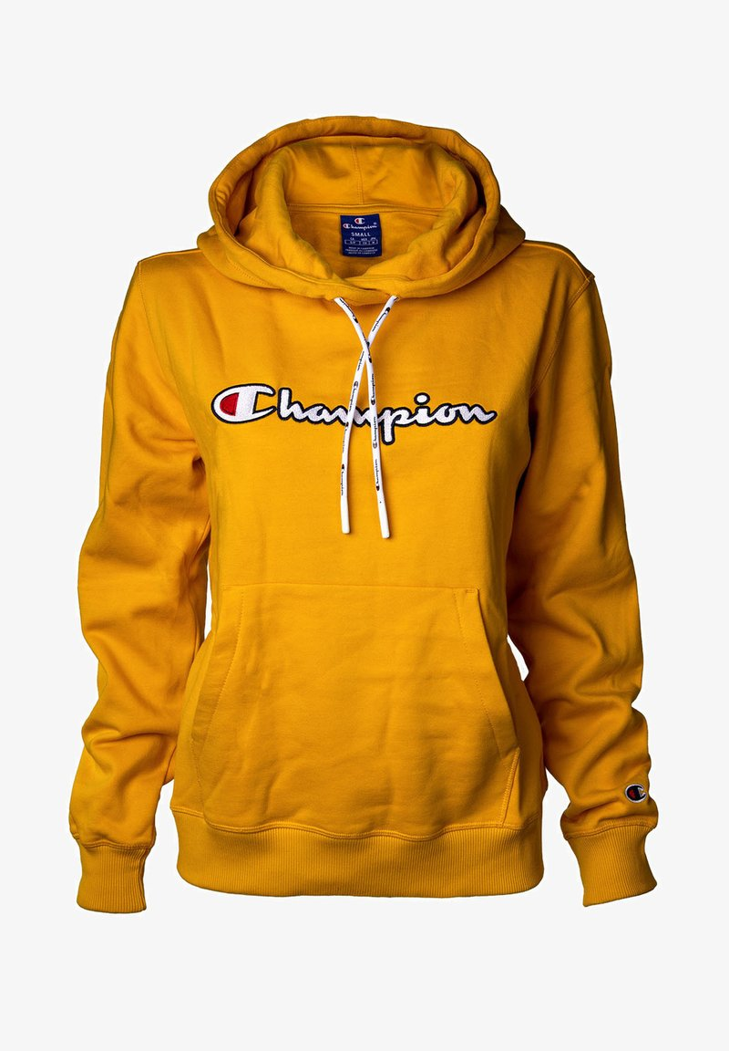 Champion - HOODED ROCHESTER - Huppari - gelb