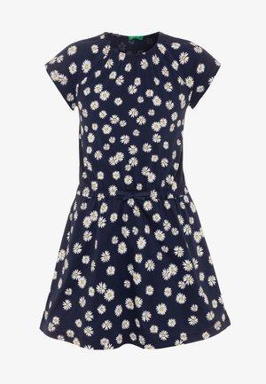 DRESS - Jersey dress - dark blue
