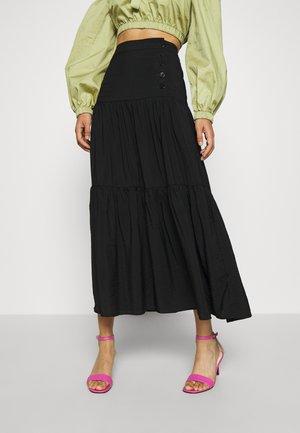 AYANA SKIRT - Maxi sukně - schwarz