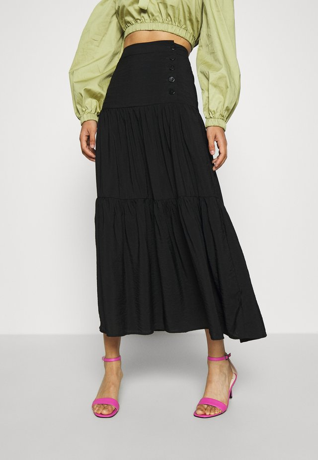 AYANA SKIRT - Gonna lunga - schwarz