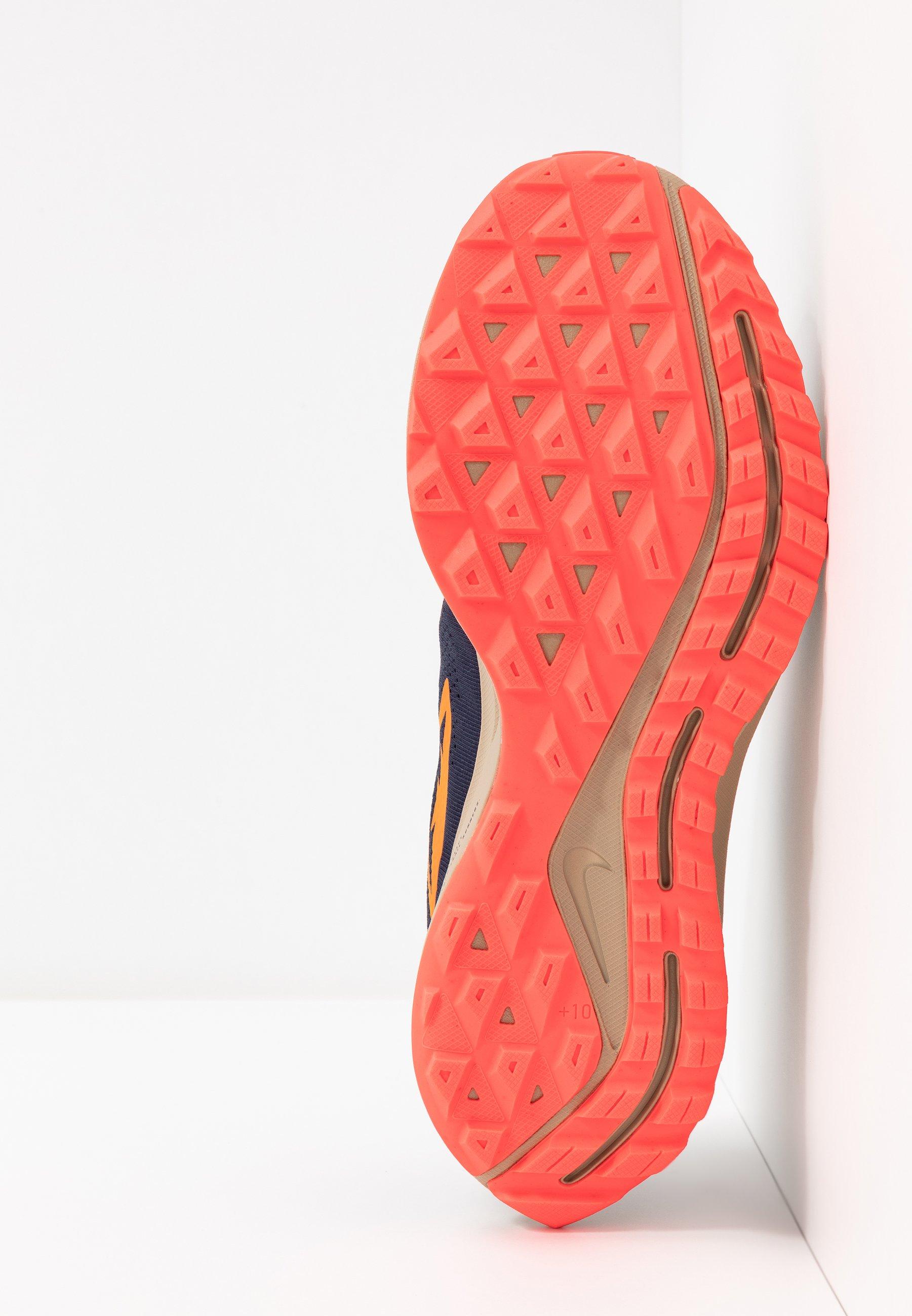 Nike Performance Air Zoom Pegasus 36 - Løbesko Trail Obsidian/magma Orange/black/laser Crimson/khaki