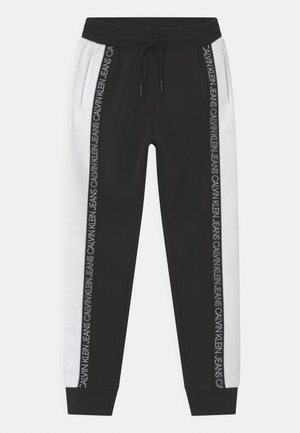 COLOUR BLOCK  - Trainingsbroek - black