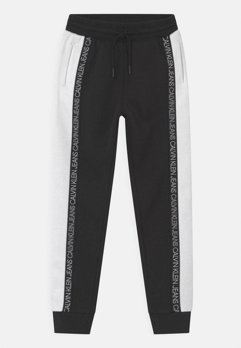 Calvin Klein Jeans - COLOUR BLOCK  - Pantalones deportivos - black