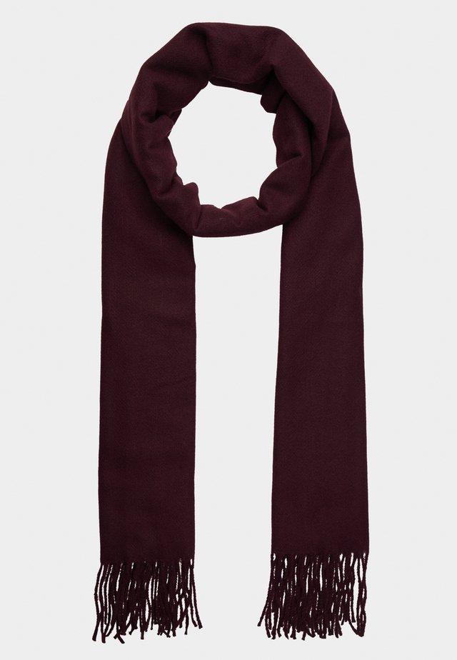Écharpe - dark red