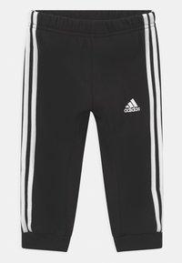 adidas Performance - LOGO SET UNISEX - Treningsdress - medium grey heather/white/black - 2