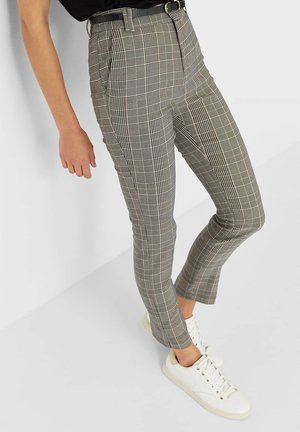 ELEGANTE - Trousers - grey