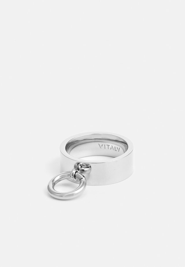 HINGE  UNISEX - Bague - silver-coloured