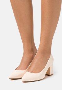 Buffalo - RAQUEL - Classic heels - beige - 0