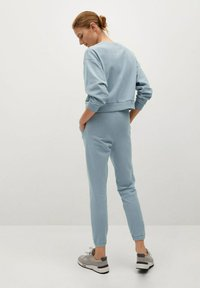 Mango - RELAX-A - Pantalon de survêtement - bleu ciel - 2