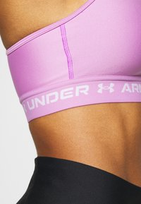 Under Armour - MID CROSSBACK BRA - Sports-BH - exotic bloom - 5