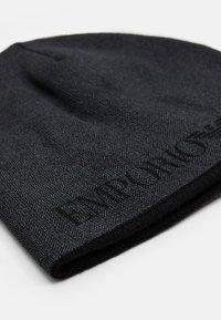Emporio Armani - UNISEX - Beanie - antracite/anthracite grey - 3