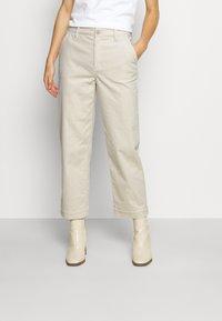 someday. - CHENILA  - Trousers - soft cream - 0
