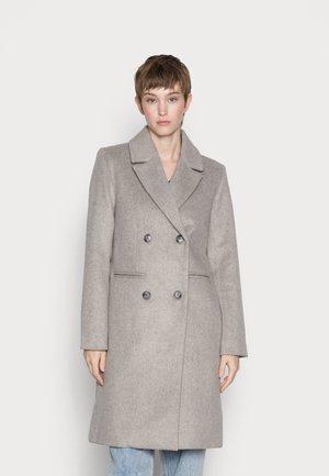 YASESSIA - Klasický kabát - grey melange