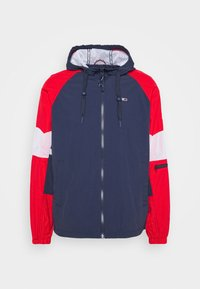 MIX FABRIC ZIPTHROUGH - Summer jacket - twilight navy/multi