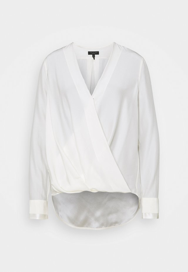 BLOUSE - Blus - white