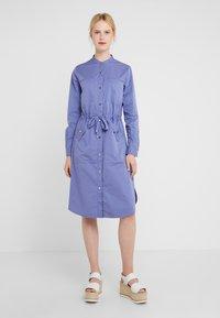 BOSS - ESPIRIT - Shirt dress - dark purple - 0