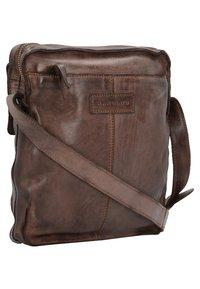 Harold's - SADDLE  - Across body bag - brown - 1