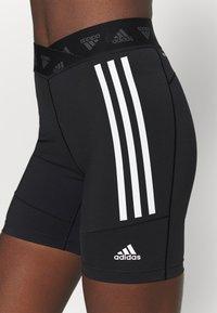 adidas Performance - CYCLING SHORT  - Tights - black/white - 4