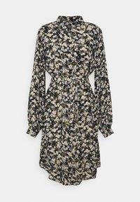 PIECES Tall - PCGERTRUDE SHIRT DRESS - Shirt dress - black - 0