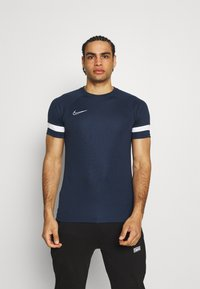 Nike Performance - ACADEMY 21 - Print T-shirt - obsidian/white - 0