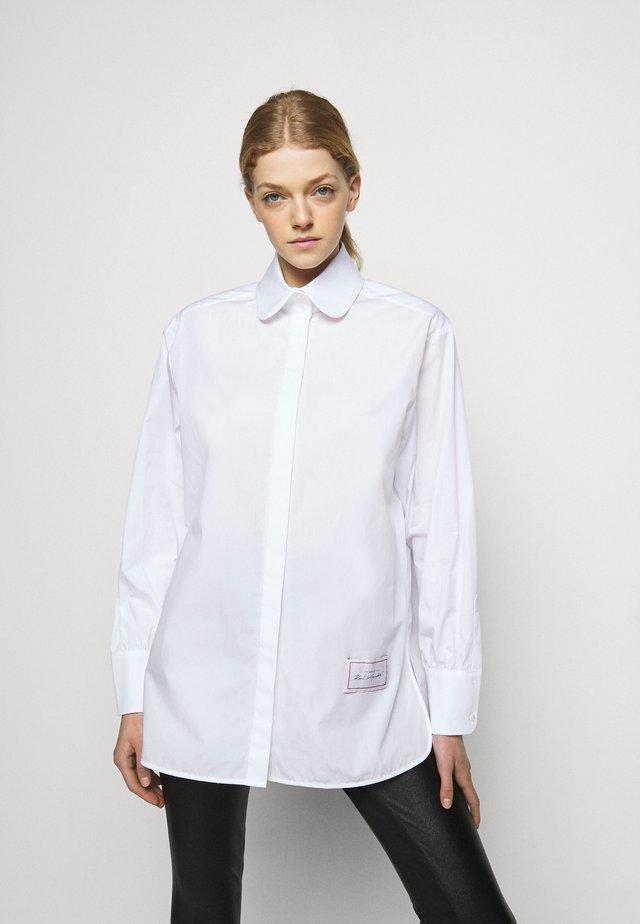 CLASSIC POPLIN - Blouse - white