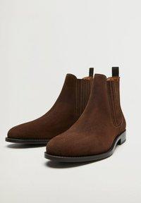Mango - Classic ankle boots - marron - 3
