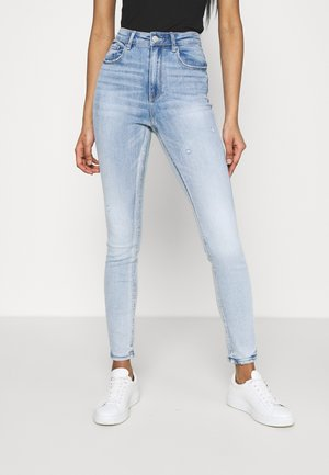 VMSOPHIA HIGH RISE - Jeans Skinny Fit - light blue denim