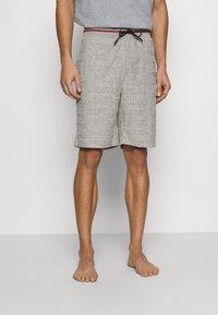 Tommy Hilfiger - SHORT LOGO - Bas de pyjama - grey - 0
